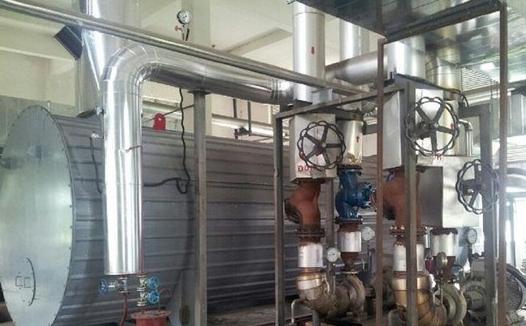 烟管余热锅炉工程